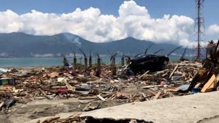 Землятресение в Индонезии имело разрушительные последствия.