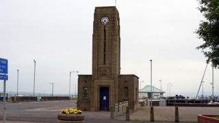 Harbourmaster's office building Stranraer