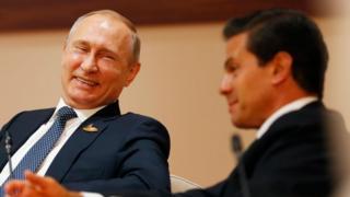 Putin y Peña Nieta