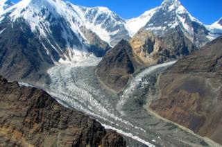 Ледники и горы Таджикистана