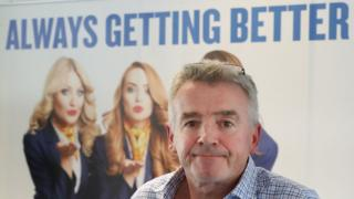 Ryanair boss Michael O'Leary