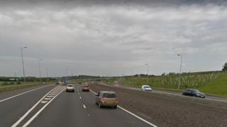 Junction 4 of the M80