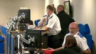 Staffordshire Police 101 call centre