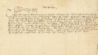 Henry VIII letter