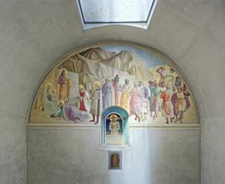 Fra Angelico's restored frescos on show in UK