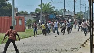 L'incident est survenu la nuit dernière dans un quartier de' Bujumbura.