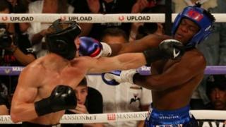 Combate de boxeo entre KSI y Logan Paul