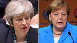 Theresa May/Angela Merkel