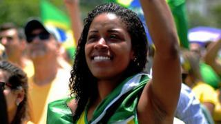 Partidaria de Jair Bolsonaro