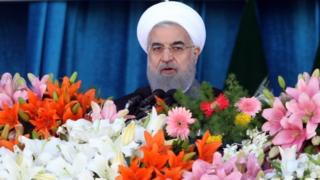 Hassan Rouhani Tehran (18 April 2017)