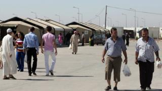 View of Kilis refugee camp - file pic