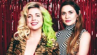 Kate Dwyer (soldakı) və Penelope Gazin Witchsy-nin təsisçiləri