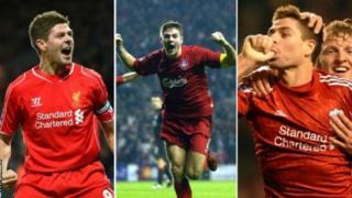 Steven Gerrard a marqué 186 buts pour Liverpool.