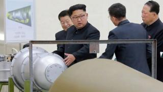 """Korea ya Ruguru ivuga ko yakoze kandi yagerageje bombe y'umwuka wa """"hydrogène"""""""
