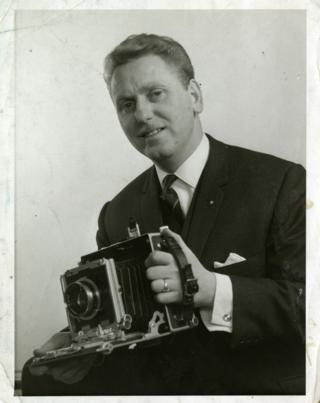 Portrait of photographer