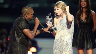 Kanye West ve Taylor Swift
