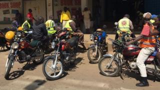 Mji wa Kisumu ulikumbwa na vurugu wiki iliyopita lakini leo watu wengi wameanza kurejea kazini