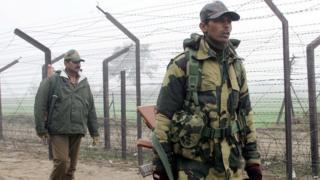 India-Pakistan border