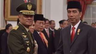 Gatot Nurmantyo dan Jokowi