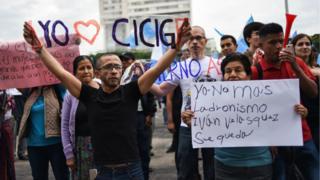 Protestas pro Cicig en Guatemala