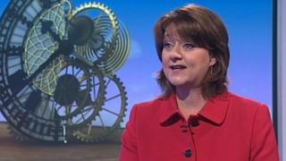 "Leanne Wood said she was committed to ""doing the job that I set out to do in 2012"""