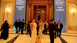 The Future Investment Initiative forum in Riyadh