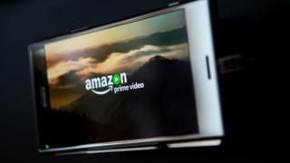 Amazon Prime on smartphone