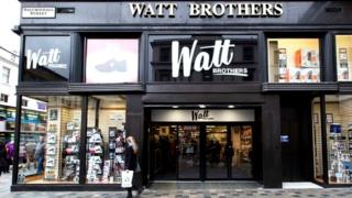 Watt Brothers store in Glasgow