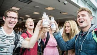 Sober-minded Brigham Young students annually celebrate #milktoberfest