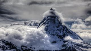 Stephen Burt: Matterhorn banner cloud