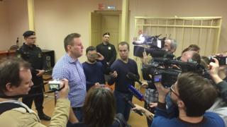 Навальный и журналисты