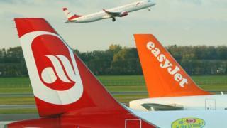 EasyJet and Air Berlin