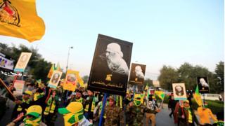 آمریکا در سوم ژانویه با حمله به خودروی فرمانده کتائب حزب الله در بغداد او و فرمانده نیروی قدس را کشت