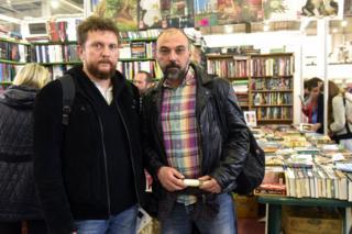 Вахтанг Кебуладзе (справа)