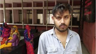 मृतक राहुल सोलंकी के भाई रोहित सोलंकी