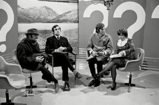 in_pictures Do Not Adjust Your Set - David Jason, Terry Jones, Eric Idle and Denise Coffey