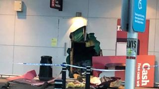 ATM damaged in Whitby