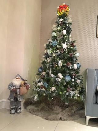 Gareth Bale's Christmas tree