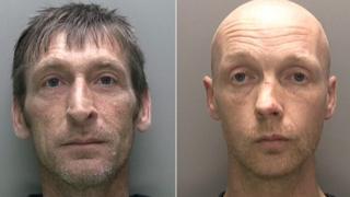 Alistair Evison and Paul McDowall