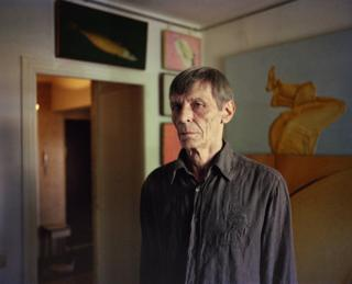 Valery Valran in his studio