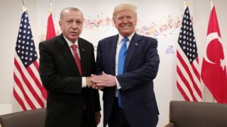 ABD Başkanı Donald Trump ve Erdoğan