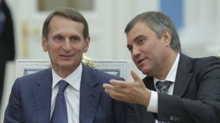 Naryshkin and Volodin