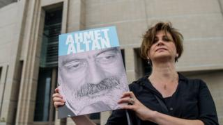 Journalist campaigning for release of Ahmet Altan, 19 Jun 17