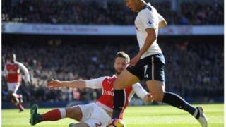 Arsenal yatoka sare na Tottenham uwanjani Emirates