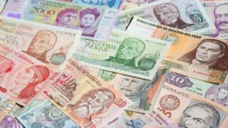 Billetes América Latina