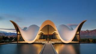 Каплиця в Сіресі неподалік від Кейптауна
