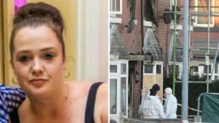 Michelle Pearson and scene of attack