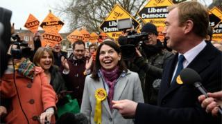 Richmond Park by-election winner Sarah Olney