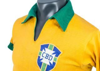 Pele's 1958 Brazil shirt