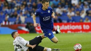 English Premier League action